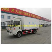 Wholesale Sinotruk Mini Commercial Truck Refrigerators 8 tons 4x2 for Togo -18 degrees from china suppliers