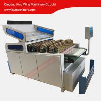 Buy cheap Curve panel wood frame door cabinet sanding machine with brush sanding rollers from wholesalers