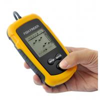 Wholesale Portable Fish Finder Depth Sonar Sounder Alarm Transducer Fishfinder 100m from china suppliers