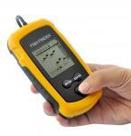 Wholesale Portable Fish Finder Depth Sonar Sounder Alarm Transducer Fishfinder 100m from china suppliers