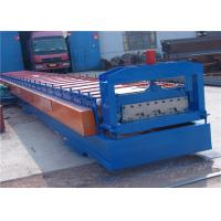 Wholesale Road Floor Tile Roll Making Machine , Color Steel Roll Forming Machine from china suppliers