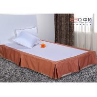 Wholesale Polyester Material Hotel Bed Skirts Queen / King Size Hotel Textile Products from china suppliers