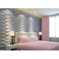 Wholesale 3D Wood Texture Wall Paper 3D Wall Tile for Kitchen / Living Room / Bedroom Wall Decoration from china suppliers