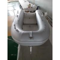 Wholesale Laterally Folded Rib Inflatable Boat Handmade Inflatable Dinghy Boat With Boat Cover from china suppliers