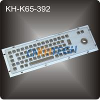 Wholesale Metal trackball industrial keyboard from china suppliers