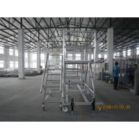 Buy cheap Cold Pressed Painting Steel Portable Scaffolding TUV GS / High Tensile rolling scaffold from wholesalers