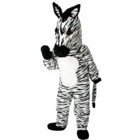 Wholesale Adult cartoon cheap costumes Plush Zebra cartoon characters Halloween costume from china suppliers