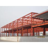 Wholesale Industrial Large Pre Engineered Steel Buildings With Galvanization And Painting Treatment from china suppliers