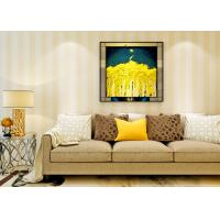 Quality Eco - friendly Vinyl Stripes Modern Removable Wallpaper for Living Room for sale