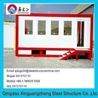 Wholesale Easy Installation Stackable Flat Pack Storage Containers With Side Stair from china suppliers