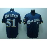 Brewers # 51 Hoffman blue/ white