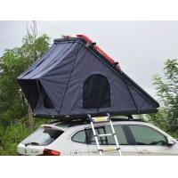 Wholesale Outdoor Camping Aluminum Hard Shell Roof Top Tent Safe Pop Up Tent from china suppliers