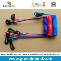 Wholesale Hot Selling Plastic Spring String and Cotton Core Safety Hand Motor Switch Lanyard from china suppliers