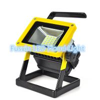 Wholesale Rechargeable led floodlight 10W 5730SMD 3x18650 battery 10000H Working Life from china suppliers