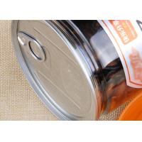 Wholesale Food Grade Clear Plastic Cylinder Easy Open Cans Transparent Melon Seeds Jar from china suppliers