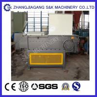 Wholesale Single Shaft Shredder Waste Crusher Machine for Recycling Big Plastic Lump from china suppliers