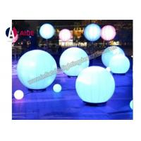 Wholesale Led Inflatable Advertising Hanging Party Ball , Led Sphere Balloon For Decorations from china suppliers