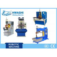 Wholesale Long Copper Arm Resistance Seam Welding Machine , Rolling Seam Welder Machine from china suppliers
