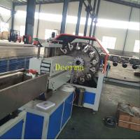 Buy cheap PVC Braided Hose Pipe Plastic Extrusion Machine Fiber Hose Production Line from wholesalers