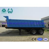 Wholesale Hydraulic dump semi trailer - front tipping with Air suspension system from china suppliers
