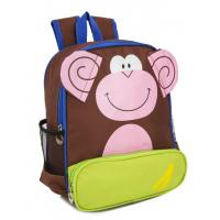 Wholesale 300D Polyester Monkey Cool Kids School Backpacks , Kids Animal Backpack from china suppliers
