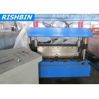 Wholesale Aluminum Steel Panel Boltless Roof Roll Forming Machinery 10 Stations from china suppliers