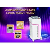 Wholesale 600w Diode Hair Removal Laser Machine Micro Channel 755/808/1064nm Combination from china suppliers