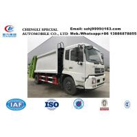 Wholesale 2018s competitive price dongfeng 12m3-14m3 read loader garbage compactor truck for sale, refuse garbage compactor truck from china suppliers