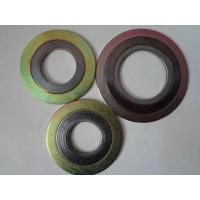 Wholesale Pipeline Valve Pump Spiral Wound Gasket With Inner / Outer Ring from china suppliers