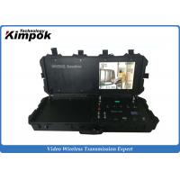 Wholesale Ground Control Base Station COFDM Wireless Video Receiver with 17 Inch Monitor from china suppliers