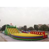 Wholesale Longest and Largest The Beast Inflatable Obstacle Course For Adults from china suppliers