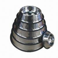 Wholesale Stainless steel pet bowl in various sizes from china suppliers