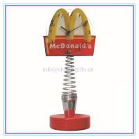 Wholesale Promo gifts table clock for McDonalds from china suppliers