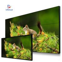 Wholesale 9 Screen Splicing 55 Video Wall Display , Ultra Narrow Side 3.8 Mm Seamless Lcd Screen from china suppliers