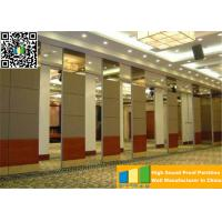 Quality Commercial Sliding Partition Walls Office Aluminum Wall Divider Panels Separation for sale