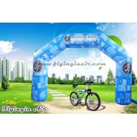 Wholesale Full Printing Blue Inflatable Arch, Air Sports Archway, Advertising Arch for Sale from china suppliers