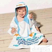 Wholesale Super Soft Boys Towel Poncho , Personalised Poncho Towels For Toddlers from china suppliers