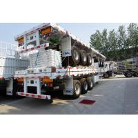 Wholesale 3 axles fence trailer side wall open semi trailer - CIMC factory from china suppliers