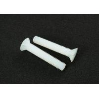 Wholesale Phillips Drive Countersunk Head Screw M1 - M8 Nylon White ISO Standard from china suppliers