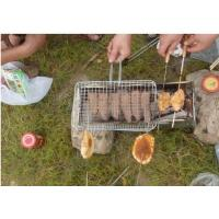 Wholesale Portable Barbecue Grill Wire Mesh , Outdoor Barbecue Grill Netting For Roast Fish from china suppliers