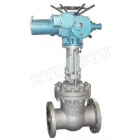 Wholesale PN 0.25 - 6.4 Mpa Electric/ Manual Flanged Gate Valve / Sluice Valve for Hydro Power Station from china suppliers