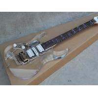 Wholesale Transparent Acrylic Electric Guitar with HSH Pickups,Lights Fret Inlay,Gold Hardwares,Offer Customized from china suppliers