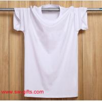 Wholesale Fashion T Shirts Short Sleeve Round Neck Black White Male t-shirt Top Cotton In Stock from china suppliers