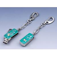 Wholesale Green Metal & Crystal MAC High Speed Jewelry Usb Flash Drive Memory 4GB, 8GB, 32GB from china suppliers