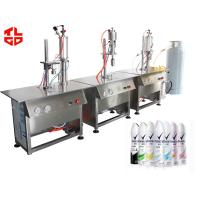 Wholesale Aerosol Filling Machine for Body Sprays / Perfume / Deodorant 1200 cans/hour from china suppliers