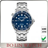 Quality Classic Matt Men'S Automatic Dive Watches , Custom Logo Stainless Steel Swiss Watch for sale