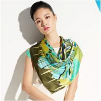 Wholesale Custom Design Lightweight Chiffon Plain Soft Ladies Neck Scarves for Warmth, Uniform from china suppliers