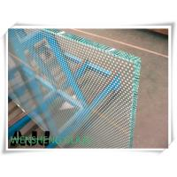Wholesale 3mm 4mm 5mm Silk screen print decorative art glass for public areas , apartment blocks from china suppliers