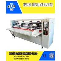 Wholesale Manual Feeding Carton Making Machine Thin Blade Slitting And Scoring Machine from china suppliers