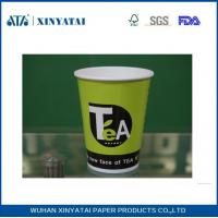Wholesale Logo Printed Paper Coffee Cups for Hot Drink Coffee or Tea 6oz , Paper Espresso Cups from china suppliers